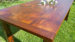 Rough sawn Pine top
