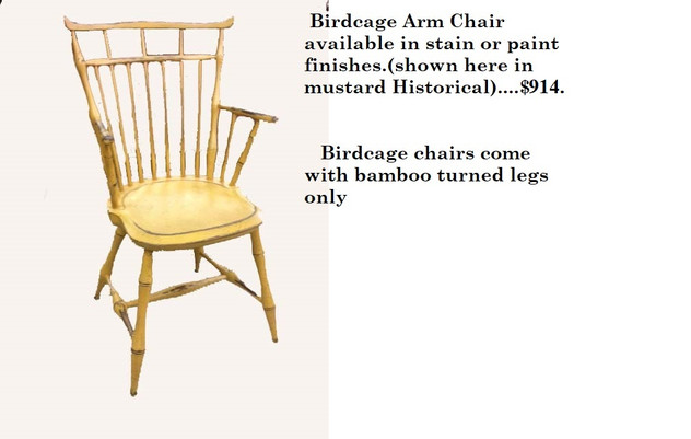 Bird Cage arm chair