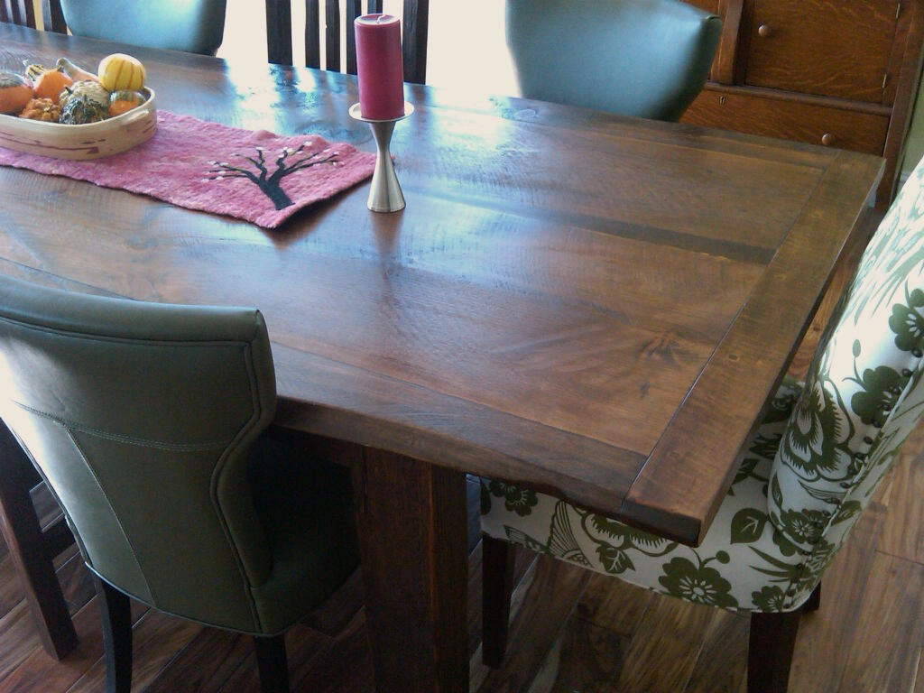 Custom dining table #1B