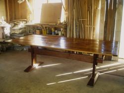 Classic trestle table design