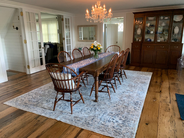 New England Bowback arm chairs