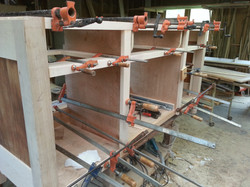 Front Facing in clamps