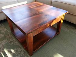 Rustic Pine coffee table #4 (rustic