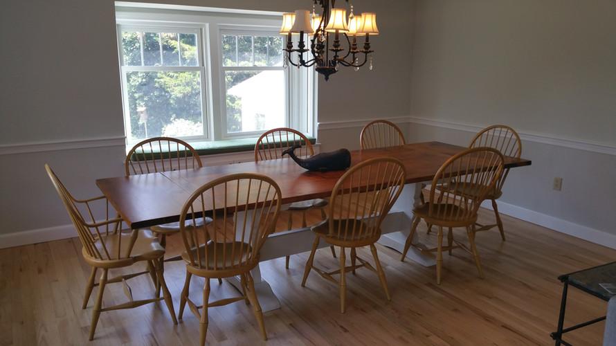 Custom Trestle tables