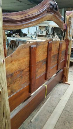 Back of head board