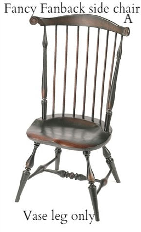 Fancy Fanback side chair