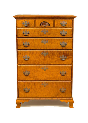 6 drawer Chippendale chest