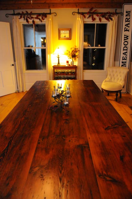 Reclaimed Fir table top #10A
