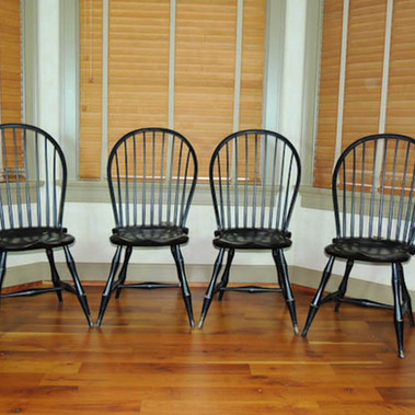Bow back Windsor side chairs