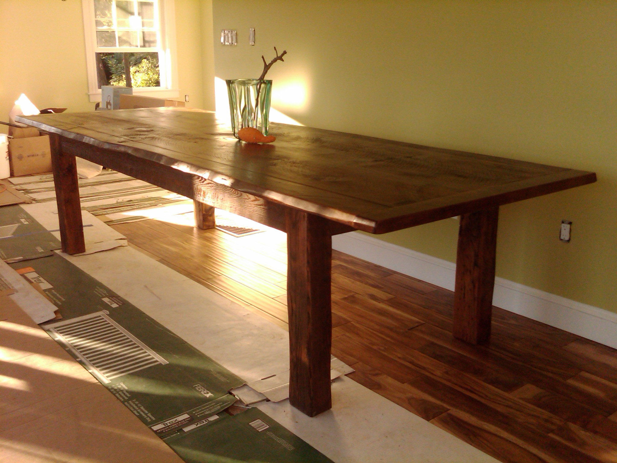 Custom dining table # 1A