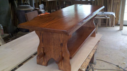 arts and crafts bench/coffee table