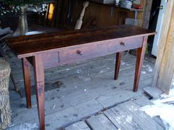 sofa table # 10 (rustic Pine)
