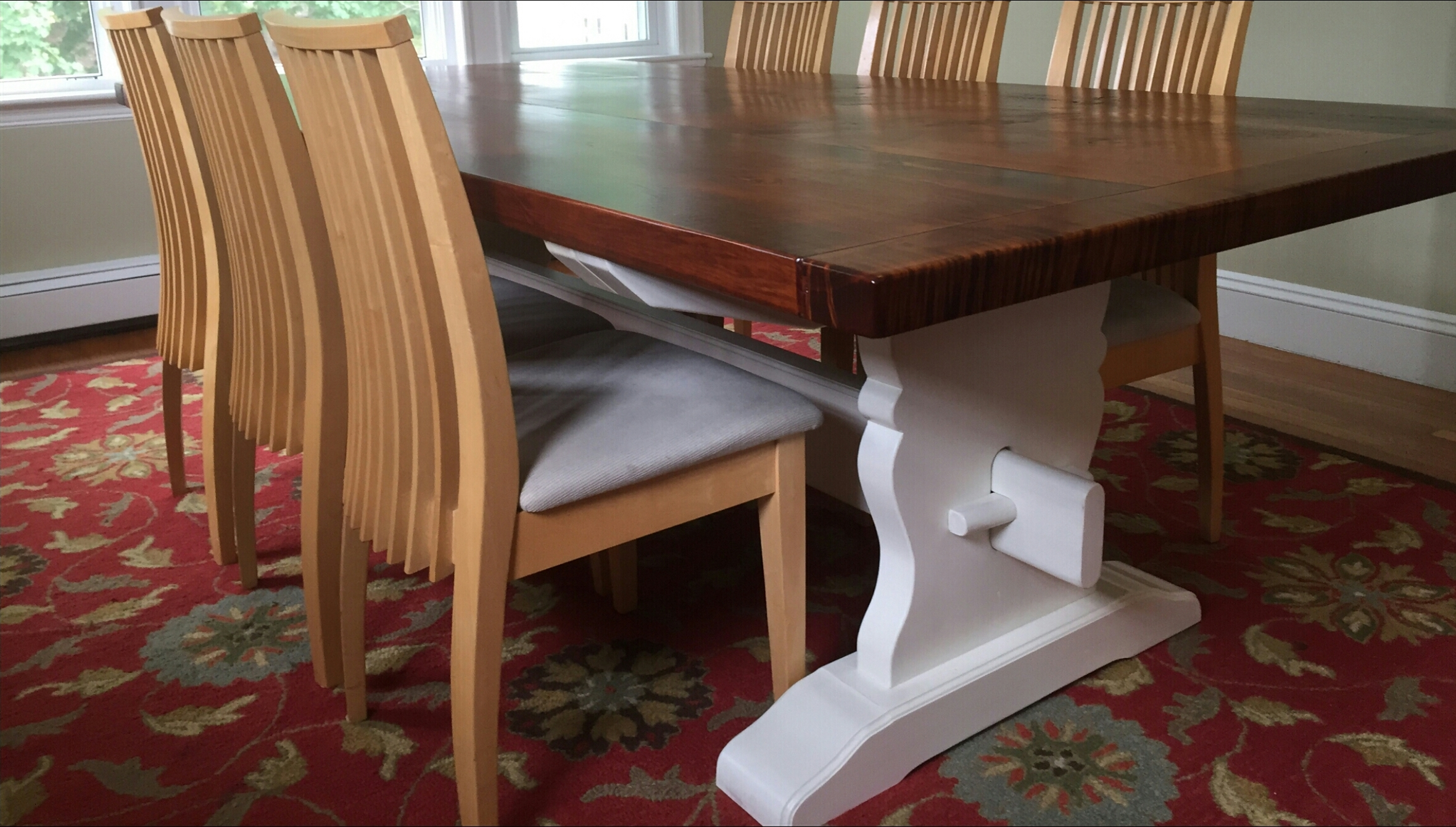 "Our ""Castine"" Trestle table"