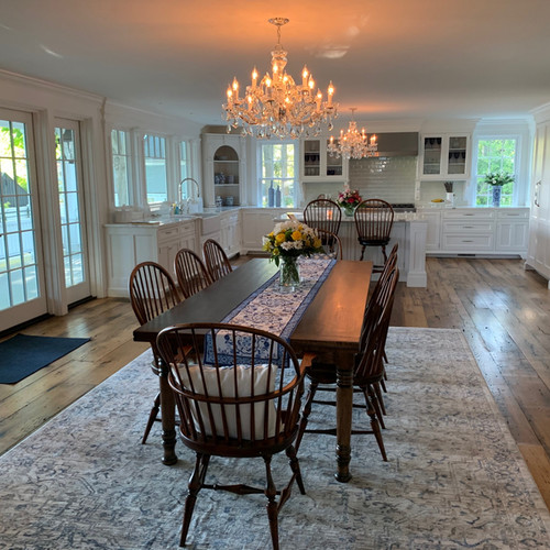 """""""Sto-Away"""" Table with Windsor chairs"""