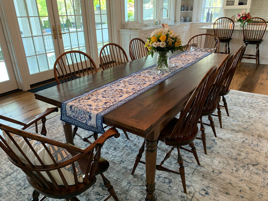 Bow back side chairs & Arm Chairs