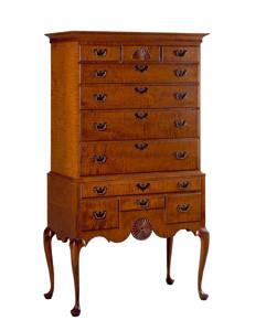 Classic Highboy dresser