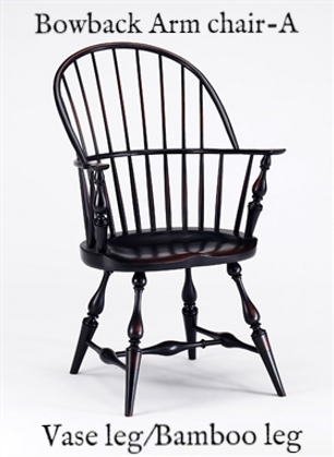 Bowback Arm Chair-A