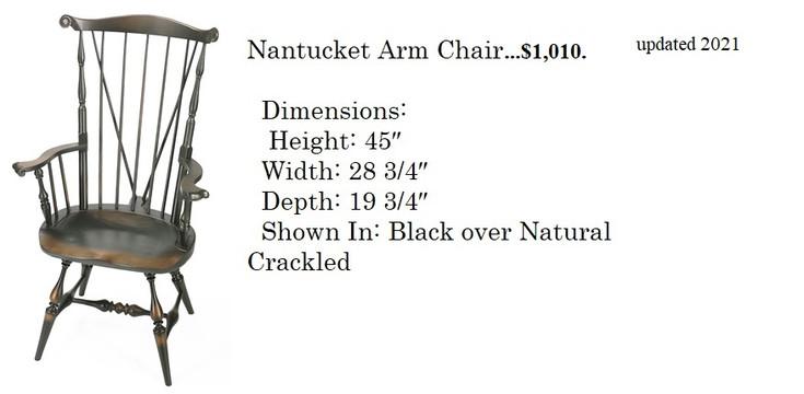 Nantucket Arm chair.