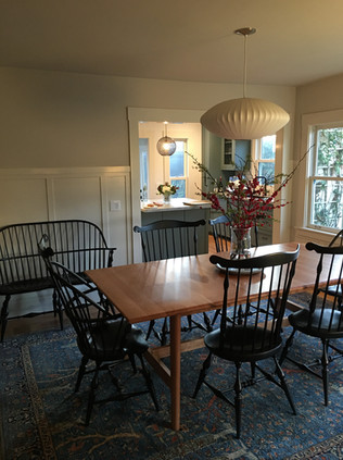 Fanback Side chairs & double settee