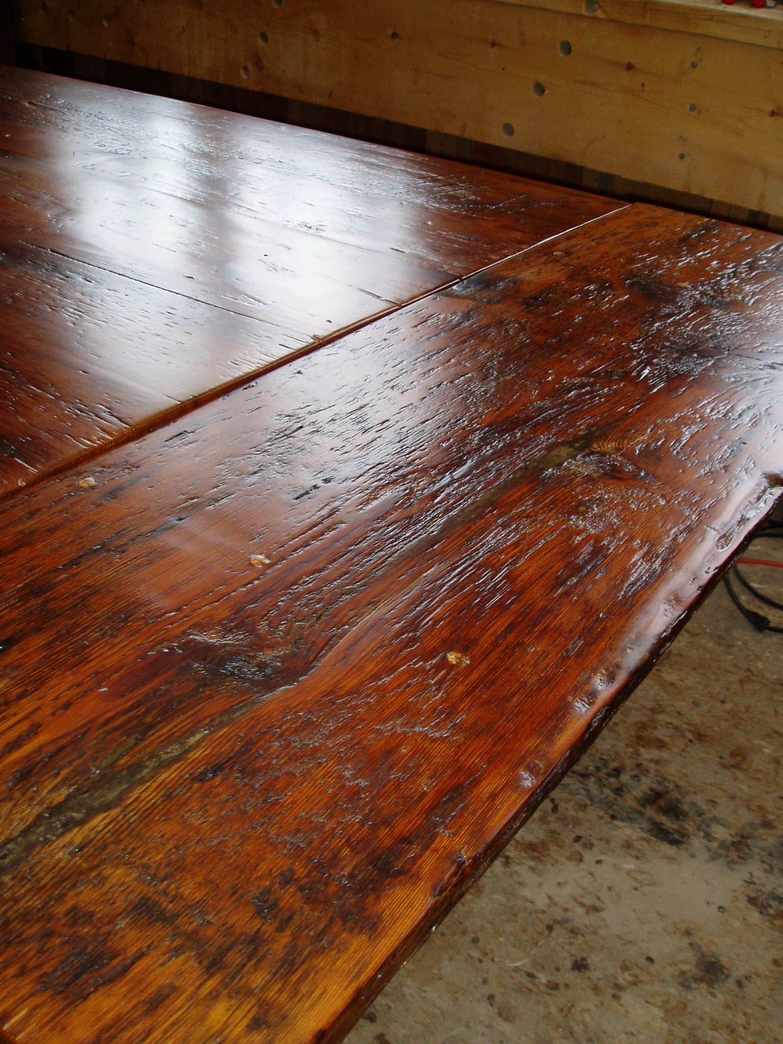 reclaimed Fir table top #10B