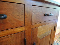 200 year old Pine drawer fronts