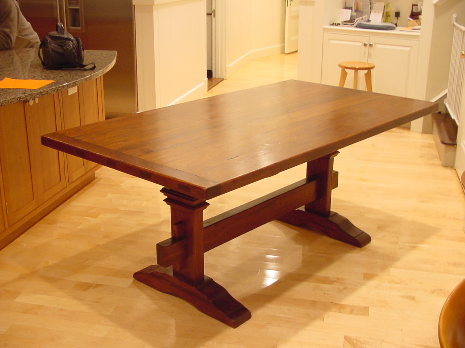 Modified Colonial Trestle Table