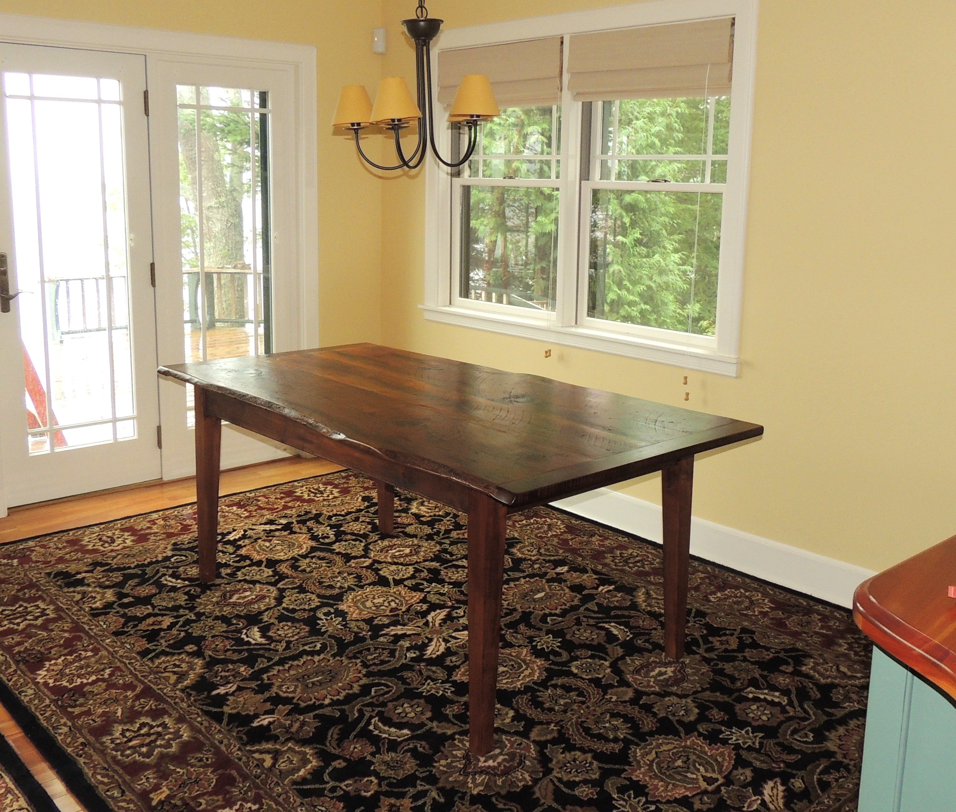 Small custom dining table #3B