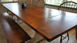 Rustic Pine trrestle table