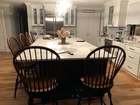 Bowback stools with swivel seat