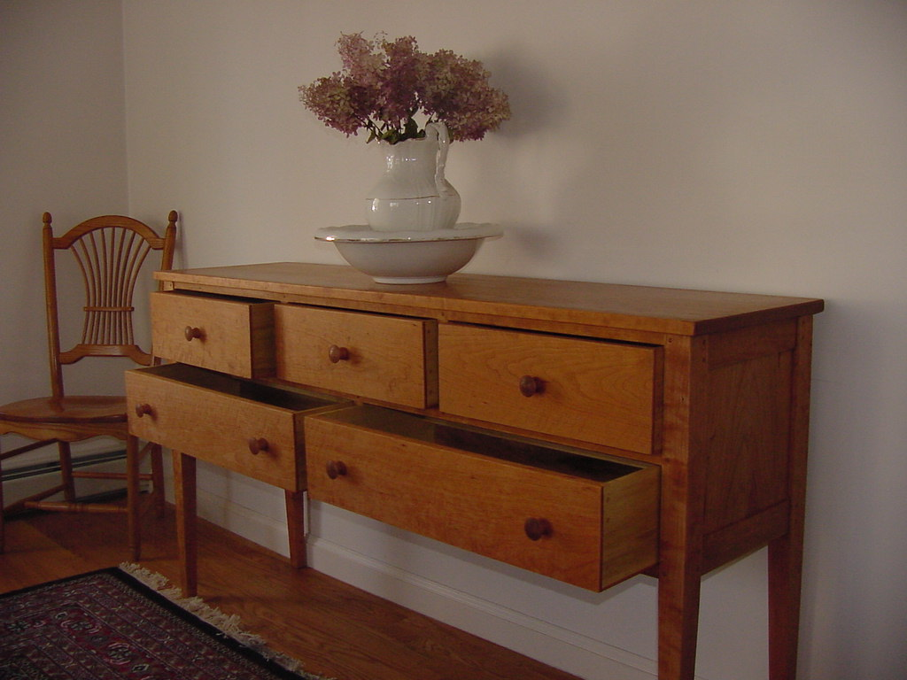 Solid Cherry sideboard A 2