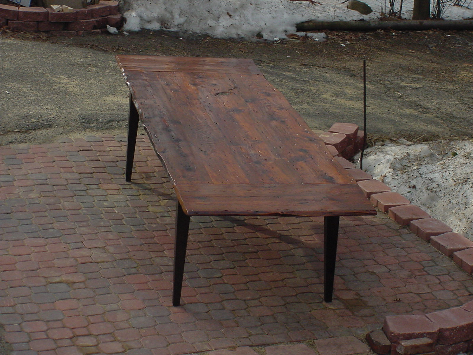Reclaimed Fir table #8
