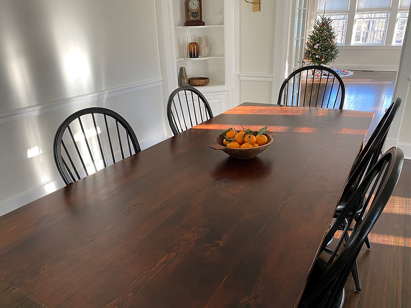 Reclaimed Pine top farm table