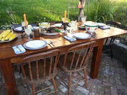 Custom farm table #4B