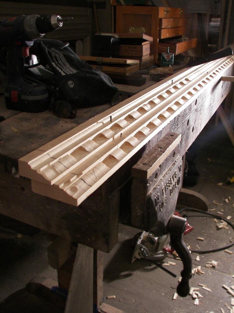 Handmade mouldings