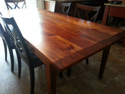Reclaimed Pine top table #11D