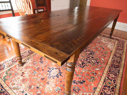 Rustic Pine farm table # 2A