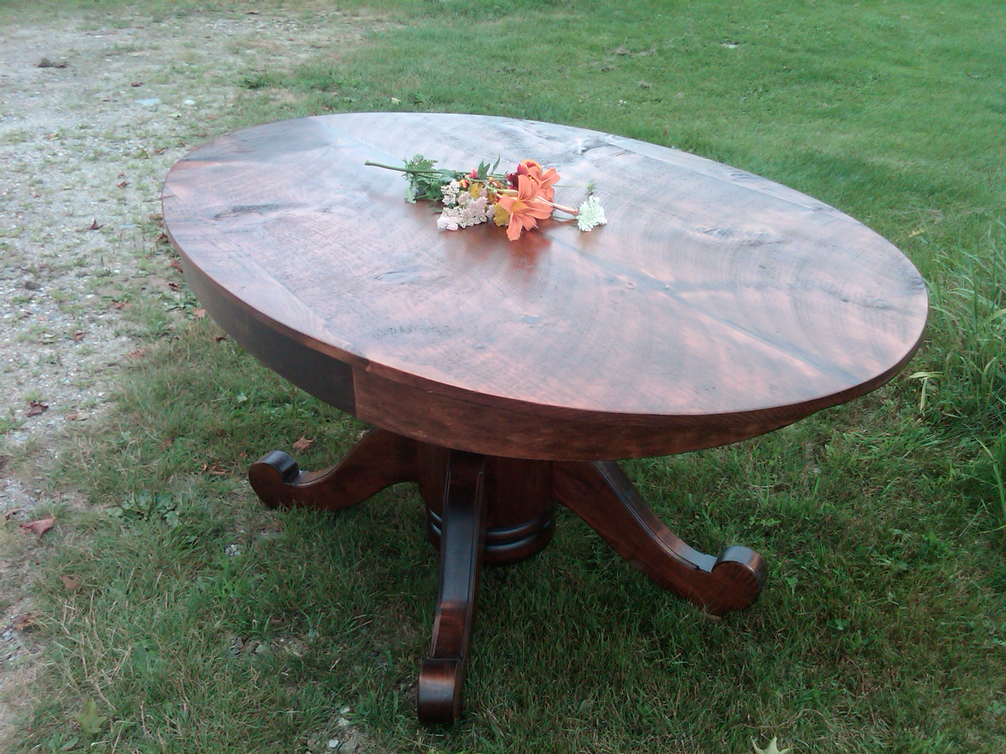 top of ellipse #5B (Rustic Pine)