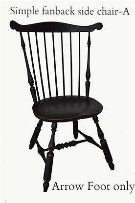 Simple Fanback side chair