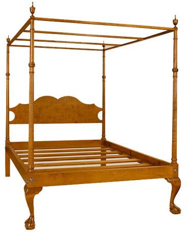 Newport ball and claw bed