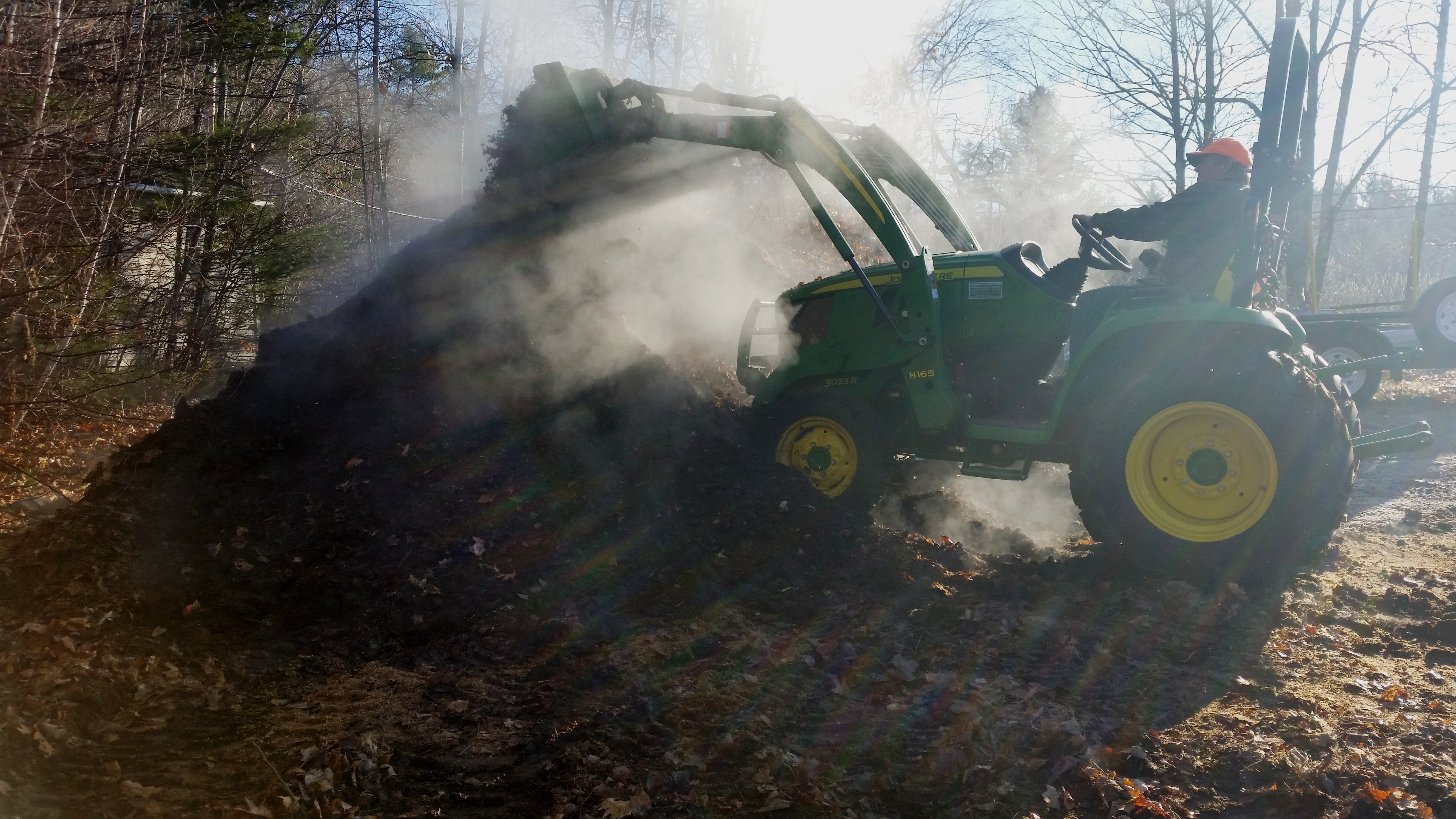 compost steamimg