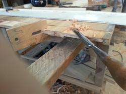 Handmade thickness gauge