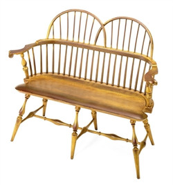 44 inch Double Bow Back Settee