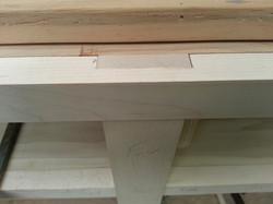 Half lap joinery