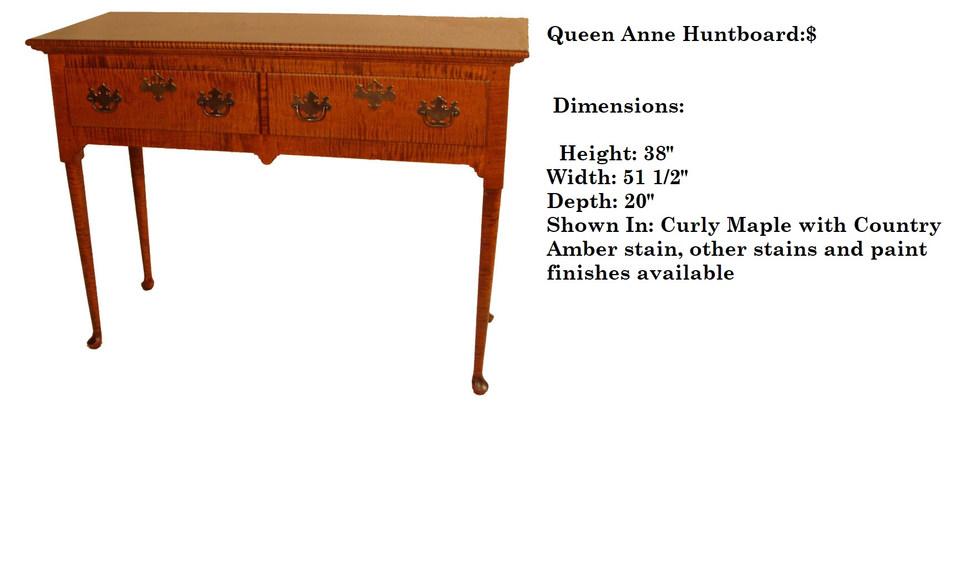 Queen Anne Huntboard