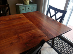 Reclaimed Pine top table #11C