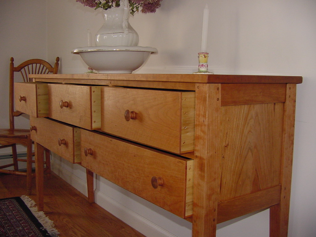 Solid Cherry sideboard 1 A