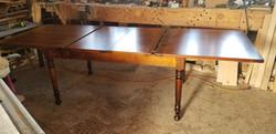 6ft Center-leaf table
