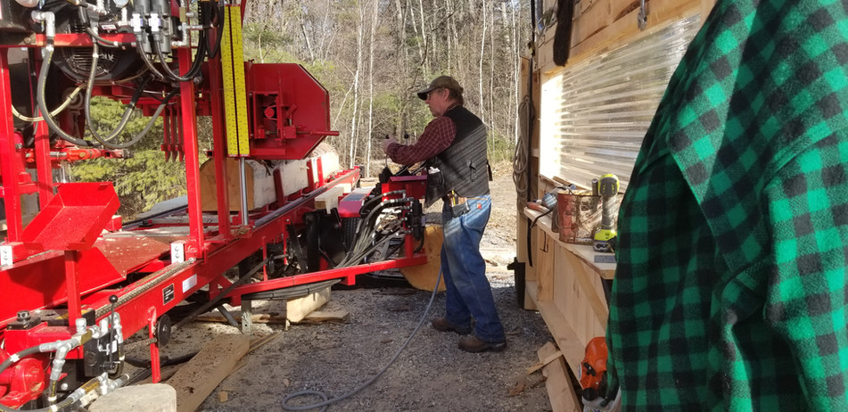 New England Joiner's new saw mill
