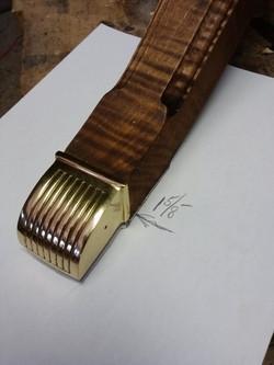 Brass toe cap