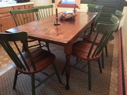 #11 Colonial dining table leg